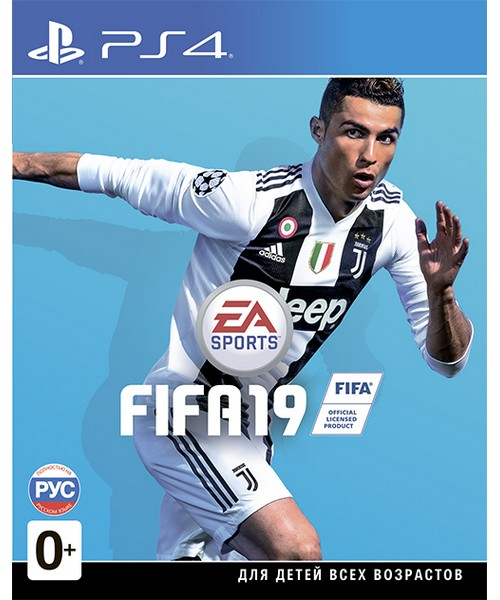 Диск FIFA 19 (PS4)