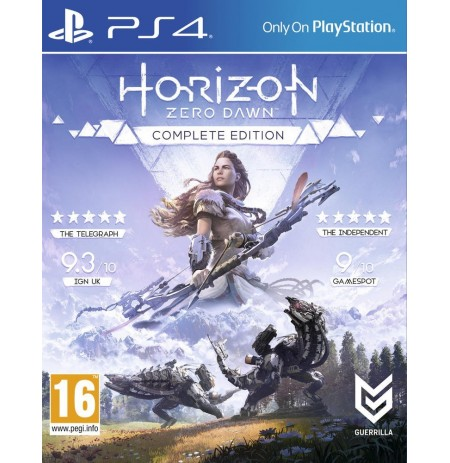 Диск Horizon Zero Dawn Complete Edition (PS4)