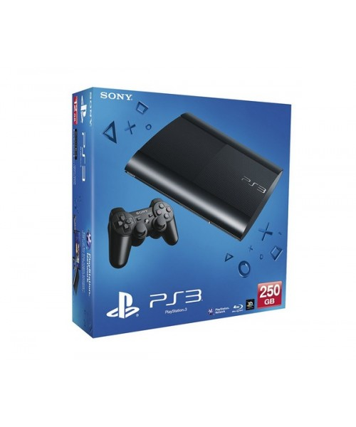 Sony PlayStation 3 Super Slim 250Gb (б/у) + 10 Игр