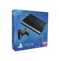 Sony PlayStation 3 Super Slim 500Gb (б/у) + 25 игр