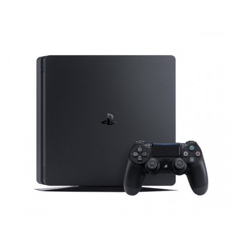 PlayStation 4 Slim 1Tb (б/у) + игра Horizon: Zero Dawn
