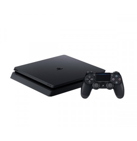 PlayStation 4 Slim 500Gb (б/у) + игра Horizon: Zero Dawn
