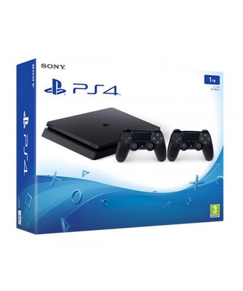 PlayStation 4 Slim 1Tb (РОСТЕСТ) + 2й геймпад + Okko 30 дней